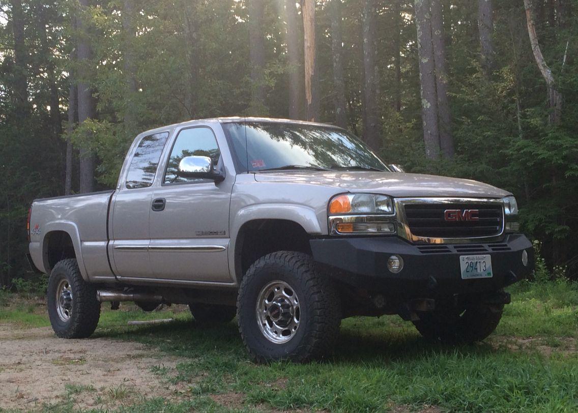 2004 gmc sierra 2500hd bearclaw bumper gmc 2500 gmc sierra 2500hd gmc trucks  [ 1136 x 812 Pixel ]