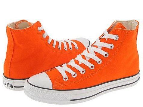 new concept cae54 70f25 orange Repin By Pinterest for iPad  Orange Converse, Orange Shoes, Converse