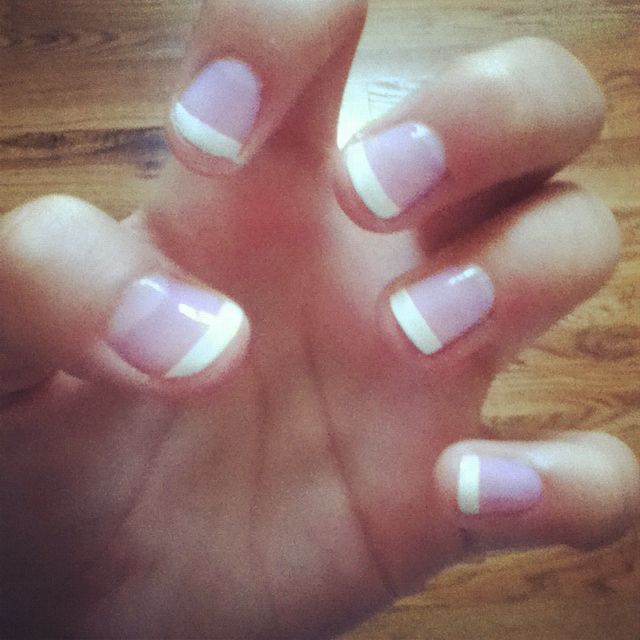 My new french manicure