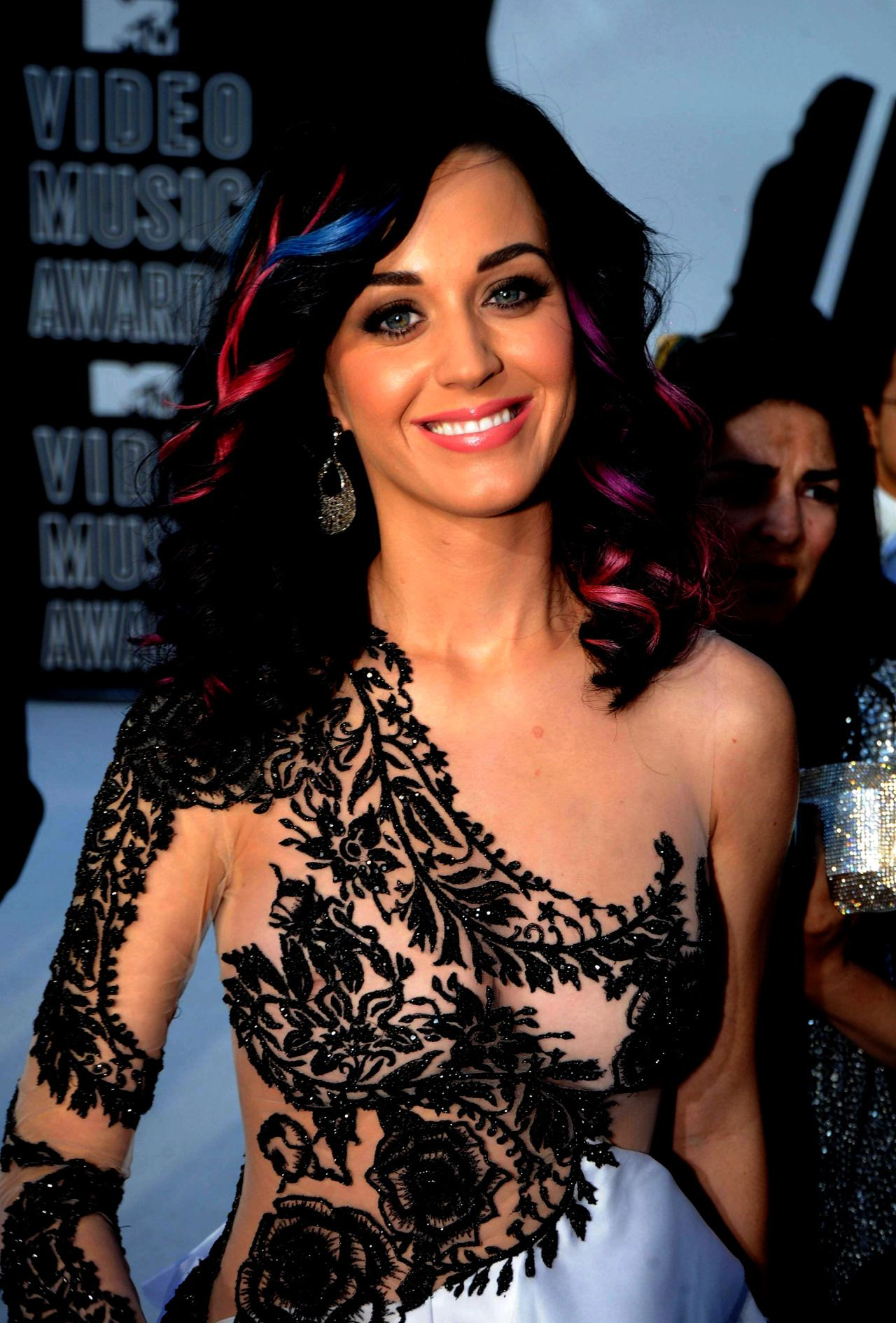 nudeandnaughtycelebs: Katy Perrys 2010 MTV VMAs nip