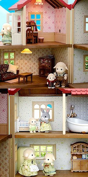 Sylvanian Families Set di Home Interiors