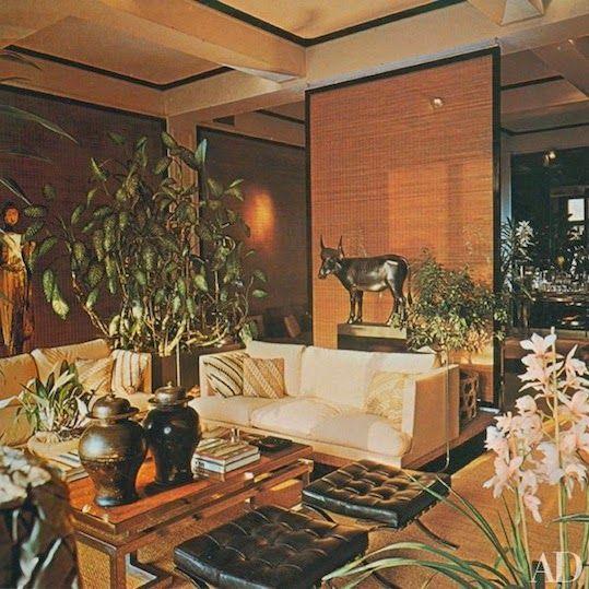 Architectural Digest International Interiors 1979 Interior