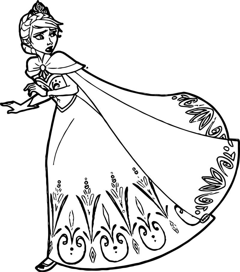 15+ Queen elsa frozen coloring pages ideas in 2021