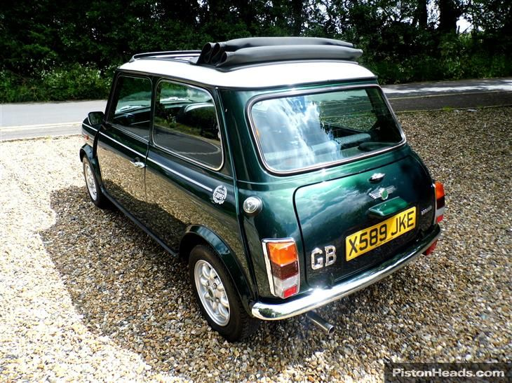 Classic Rover Mini Cooper In British Racing Green With For Sale