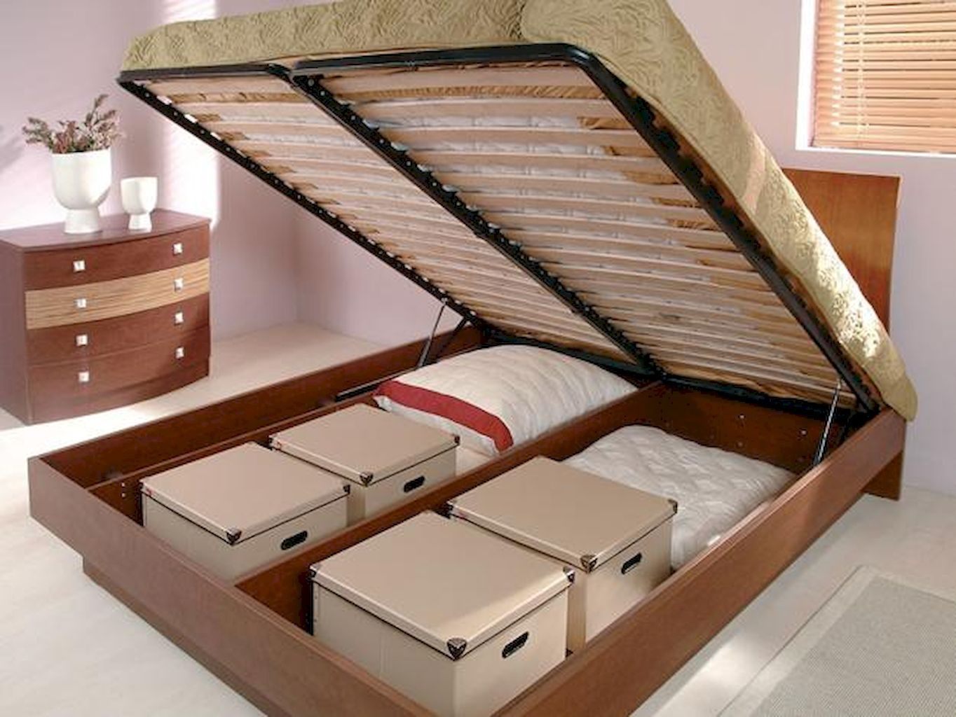 Cool 76 Creative Under Bed Storage Ideas For Bedrooms