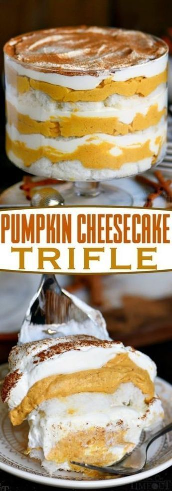 #cheesecake #pumpkin #trifle #recipe #dishes #girlsPumpkin Cheesecake Trifle Recipe Pumpkin Cheesecake Trifle Recipe – Girls DishesPumpkin Cheesecake Trifle Recipe – Girls Dishes #trifledesserts