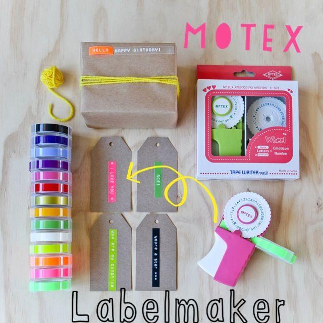Motex labelmaker!