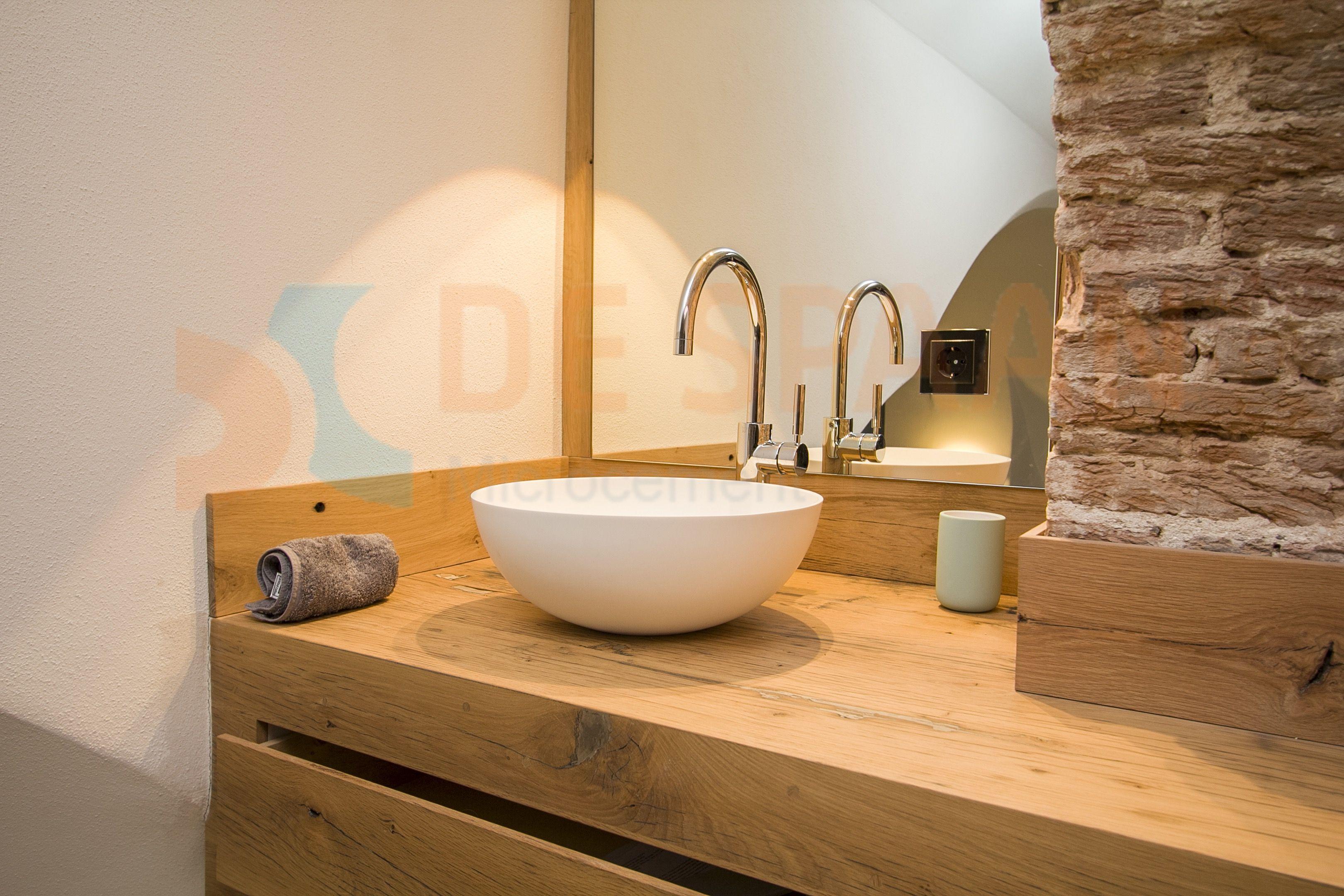 Naadloze Badkamer Wanden : Naadloze badkamer microcement betonlook badkamerinspiratie