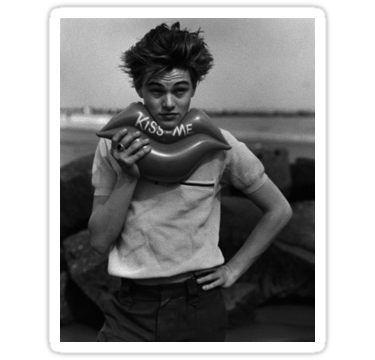 'Leonardo DiCaprio' Sticker by anoooukk