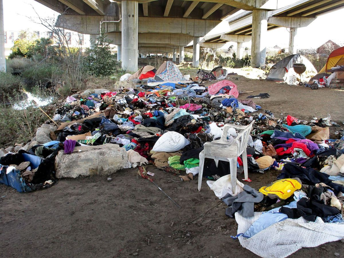Tent City Slums California New Lyrics