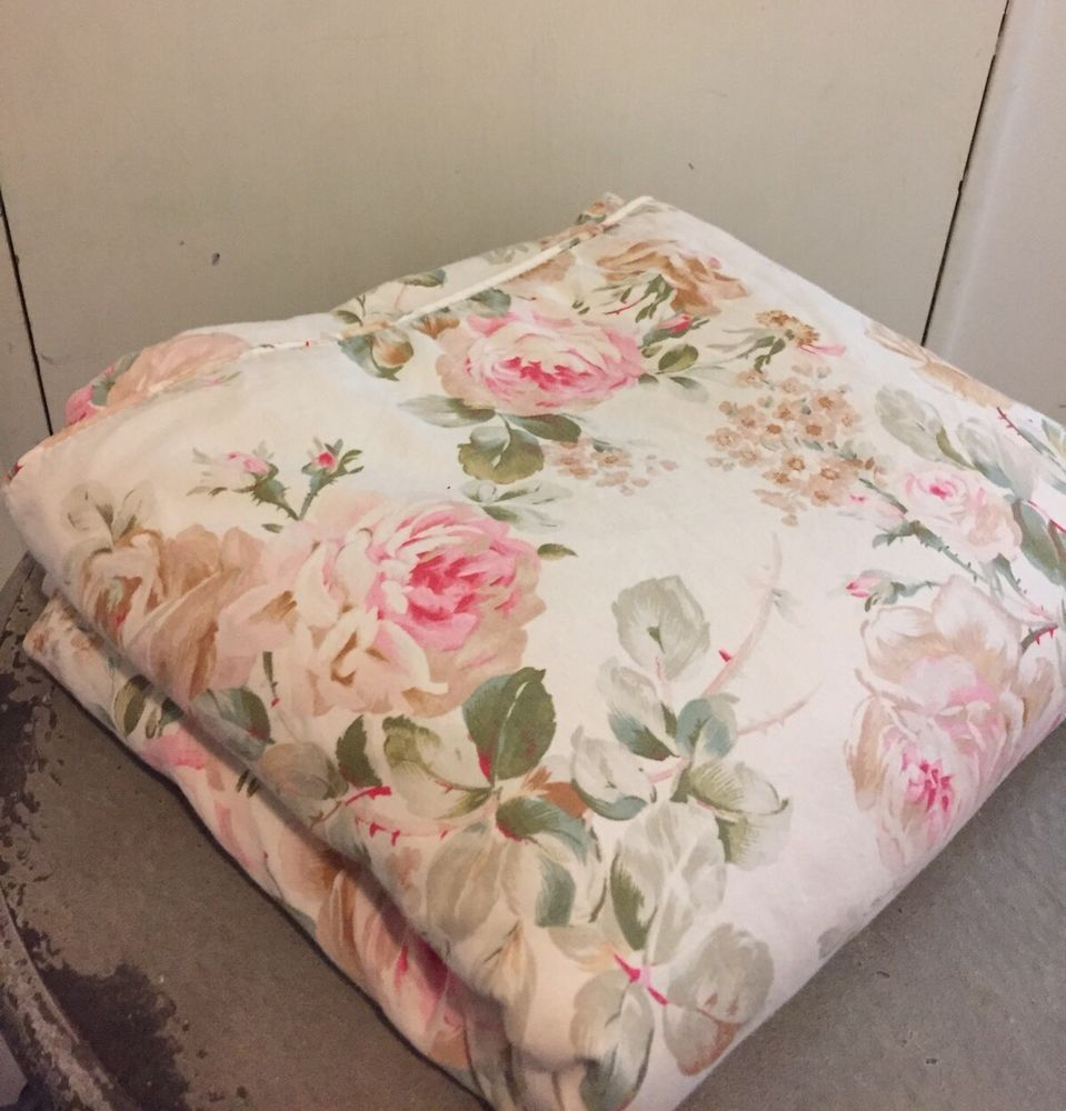 Vintage Ralph Lauren Woodstock Duvet Cover Soft Feminine Beauty