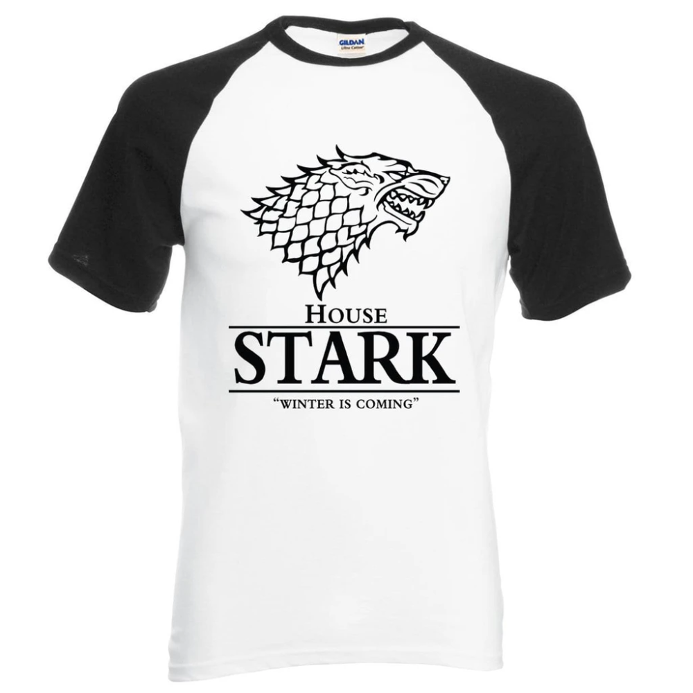 Game of Thrones House Stark Winter Is Coming Hommes T-Shirt