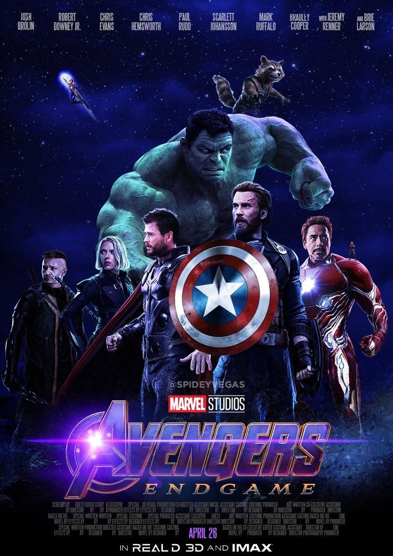 Avengers Endgame My Poster Design Marvel Avengers Marvel