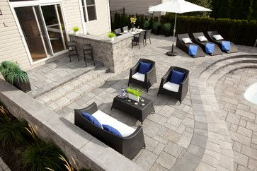 Beau Multi Level Patio Design Ideas, Pictures, Remodel And Decor