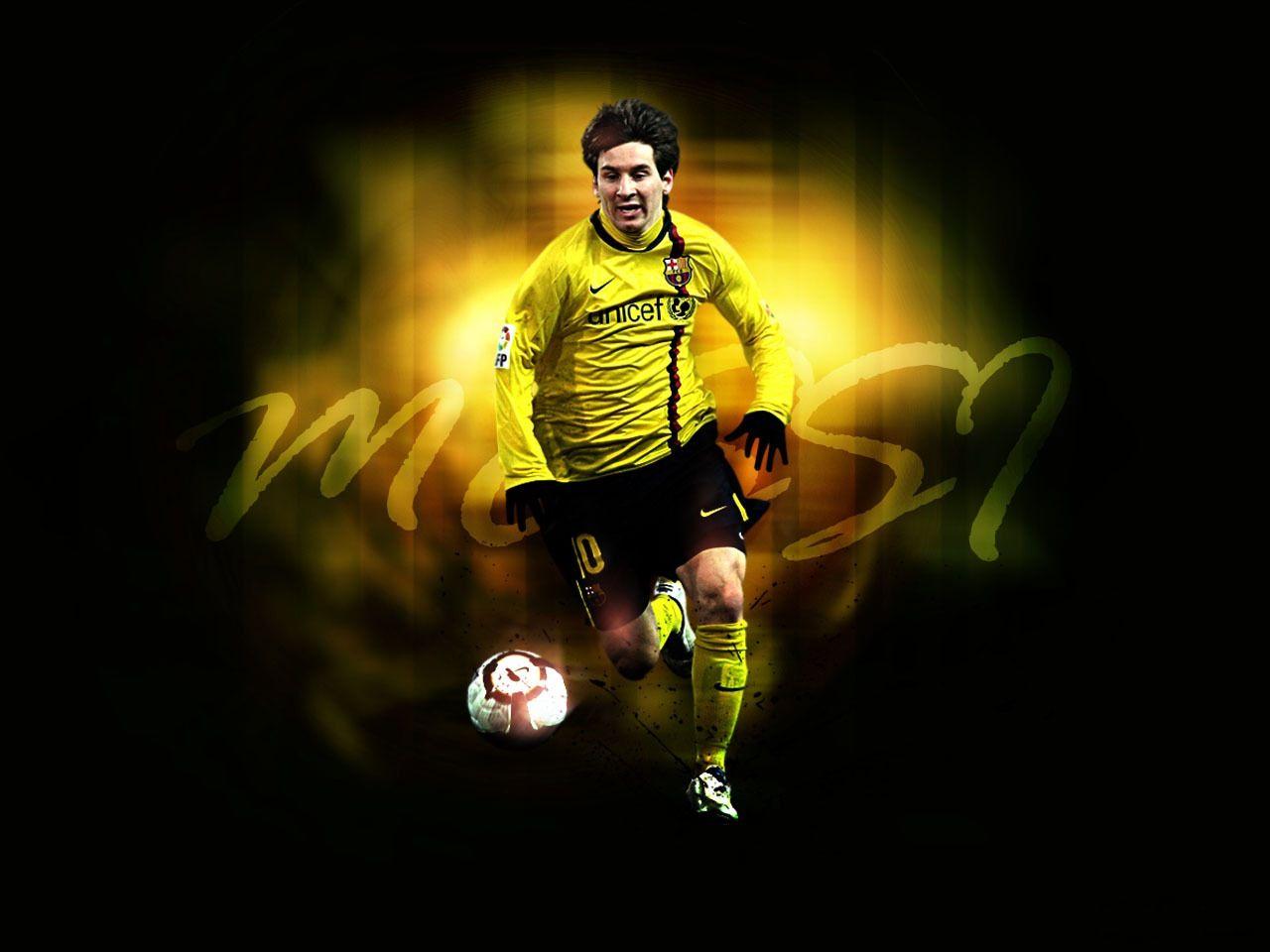 Cool Footballer Hd Cool Wallpaper Background Lionel Messi