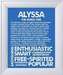 Alyssa Meaning Of Names Pinterest Babies