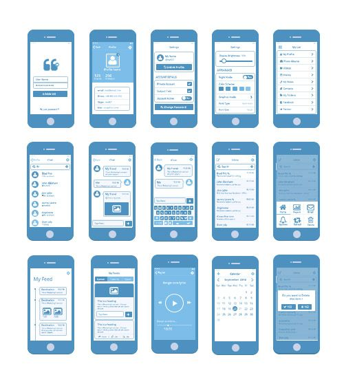 Wireframe Google Search Mobile App Design Mobile App Wireframe