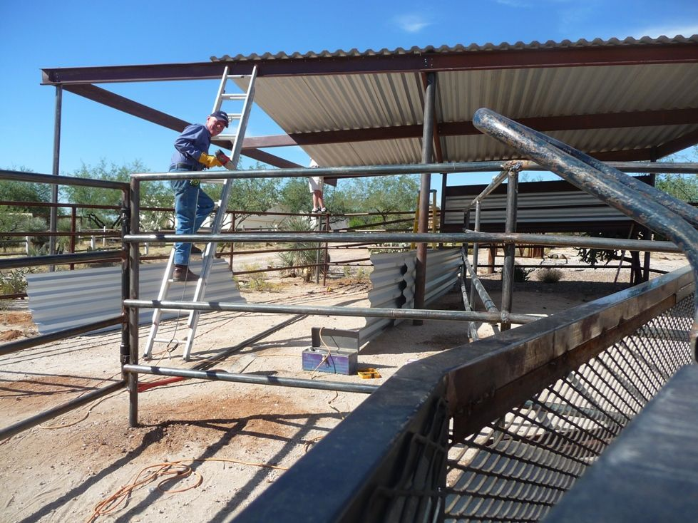 AZ Hay Barns, Mare Motels, Tack Rooms Installed Arizona