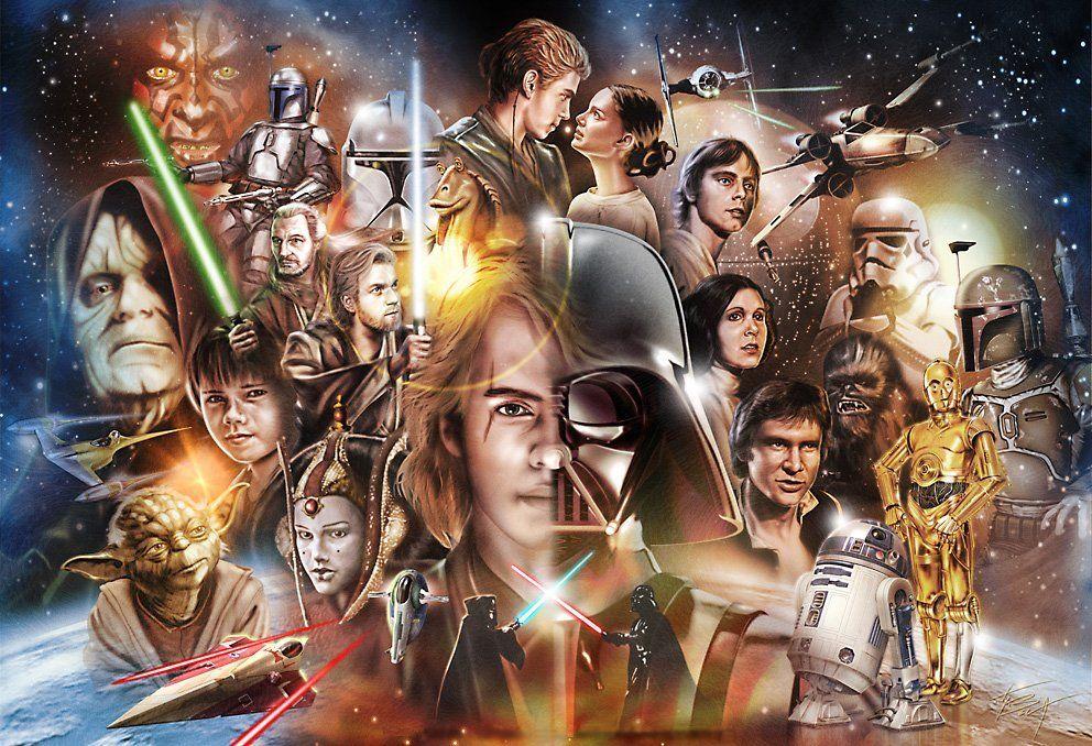Ranking the Star Wars films   Star Wars   Star wars film, Star wars