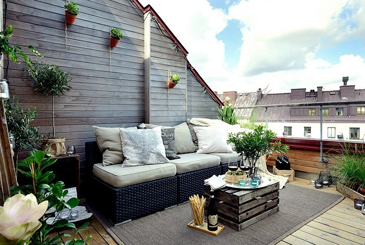Ideas Terrazas Aticos Buscar Con Google Backyard Pinterest - Decoracion-terrazas-aticos