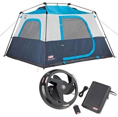 Cabin Tent With Light System