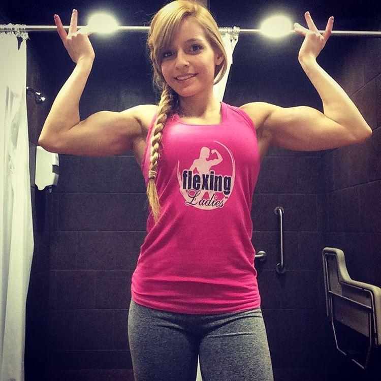 Jennifer Harris  Small Girl Big Biceps - Mens Tops -4774