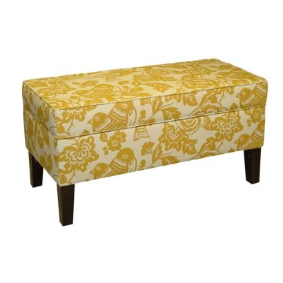 storage bench, target $179.99, comes in several colors