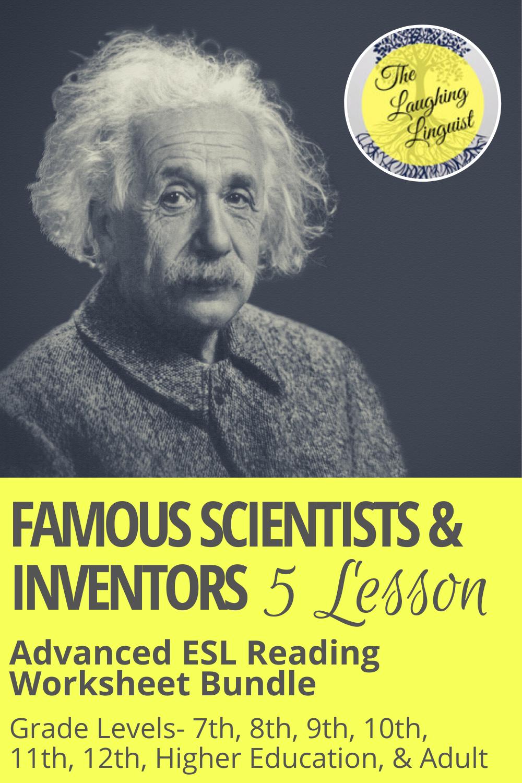 Famous Scientists & Inventors- 5 Lesson Advanced ESL ...