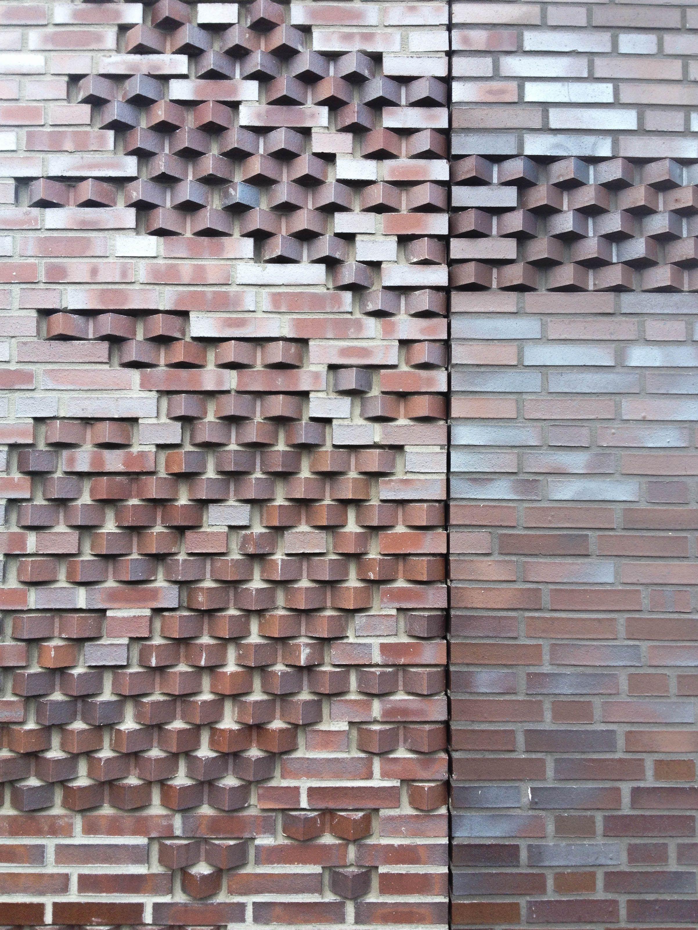 Fasade brick facades pinterest ziegel und klinker for Klinker haus modern