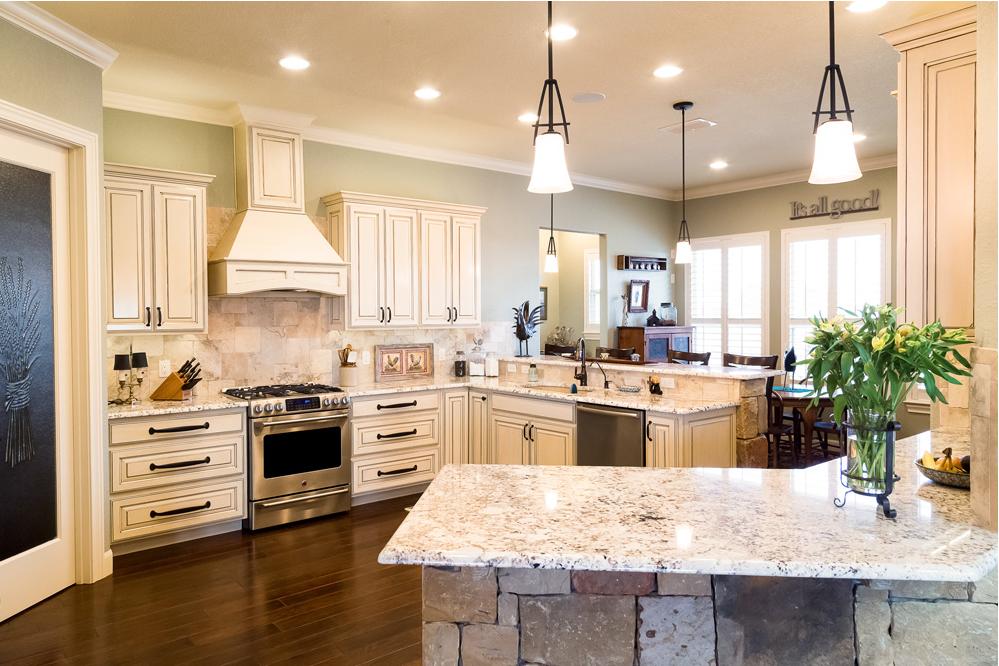 White Springs Granite Countertops Kitchen San