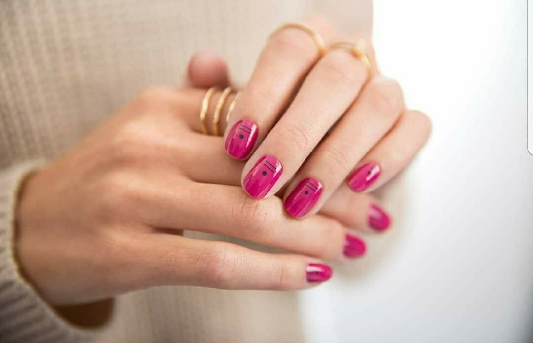 Geeking out color street nails | Color street nails, Nail