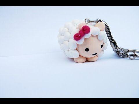 Cute Kawaii Sheep or Lamb Tutorial for Fimo or Polymer Clay