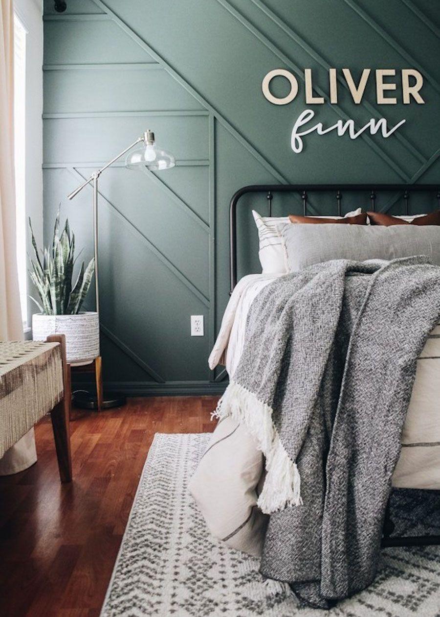 Bedroom Feature Wall Ideas Pinterest
