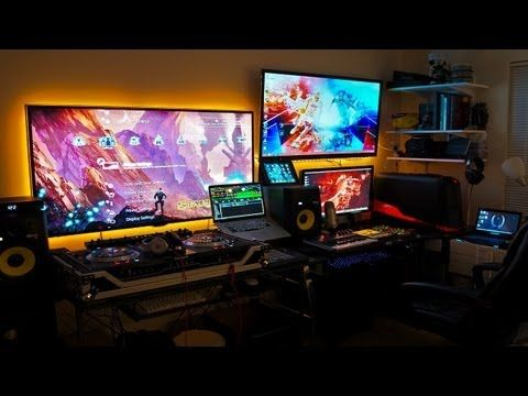 Ultimate Gaming Setup · 20 Awesome DIY Computer Desk Plans, That Really  Work For Your Home Office Tags: