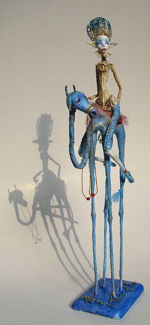 the sky cow rider 4 by Tireless Artist, via Flickr
