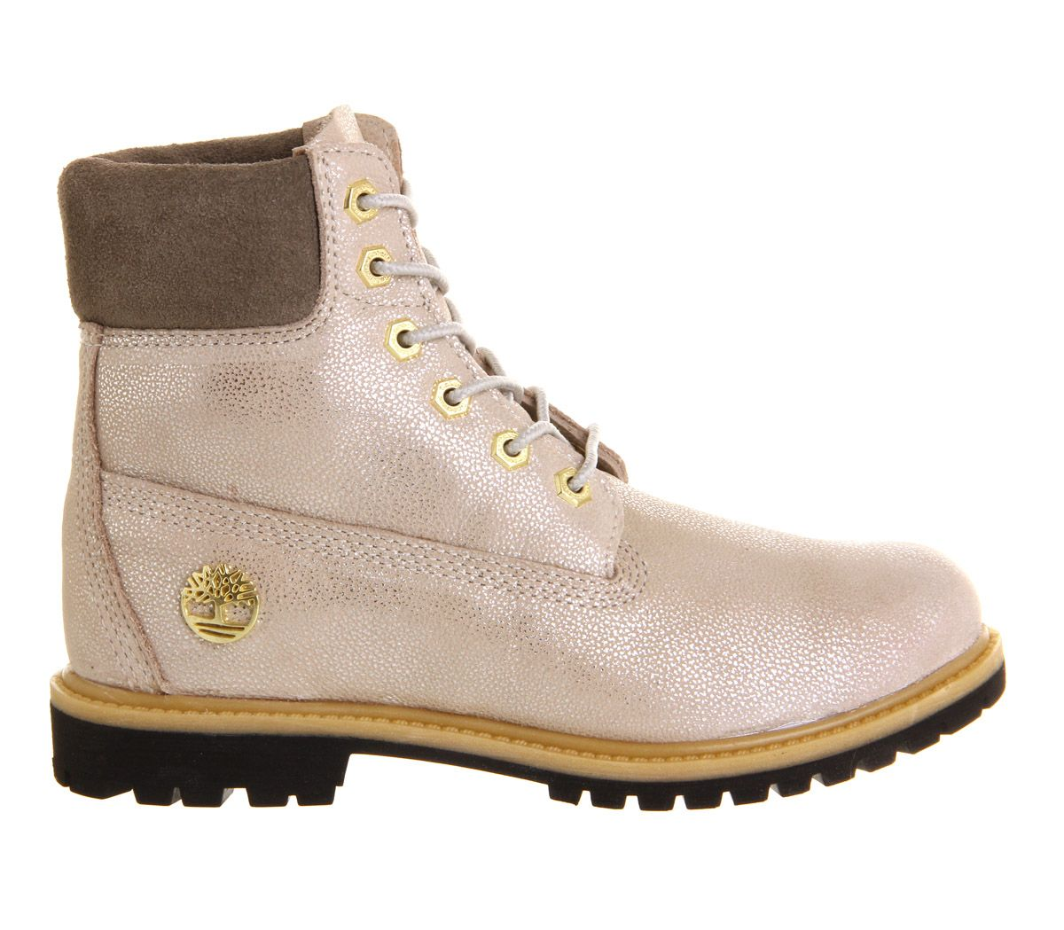 Buy Cest Bone Chich Silver Timberland Premium 6 Boots from OFFICE.co.uk.