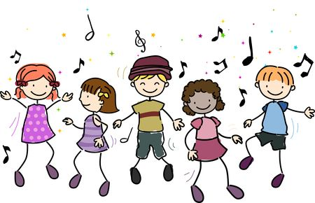 Image result for music concert kids cartoon