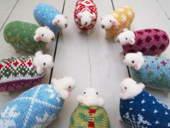 New Woolly Flock Designs | Wooly jumper, Green jumpers and Fair ...