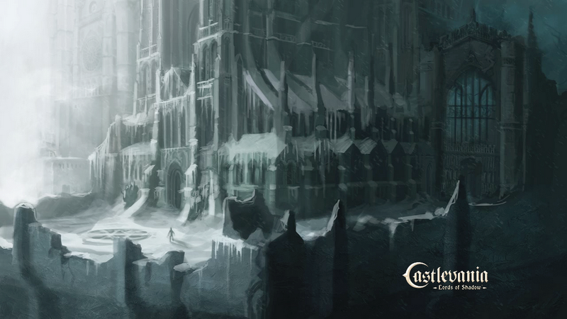 Castle Exterior Concept Art From Castlevania Lords Of Shadow
