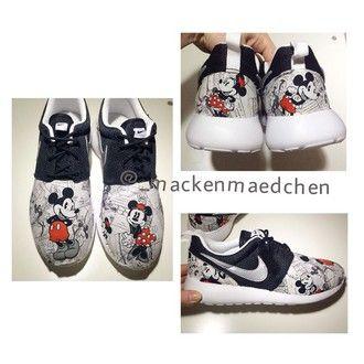 474f4c9395b42b shoes mickey micky mickeymouse mickymous minnie minniemouse mickeyandminne disney  custom nikecustom nike roshe run run nike rosheruncustom