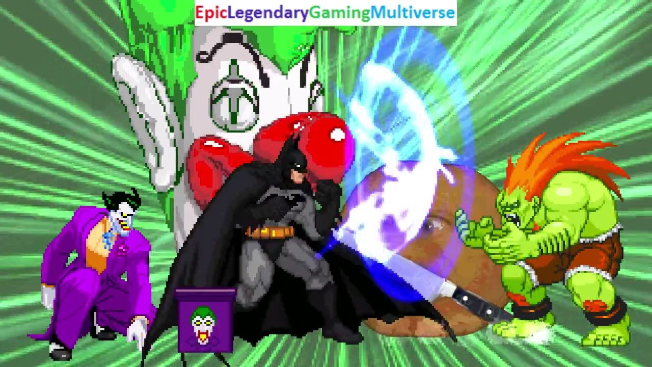 Batman And The Joker VS Blanka And The Annoying Orange In A MUGEN Match / Battle / Fight: https://t.co/HPtuLSjLlI via @YouTube