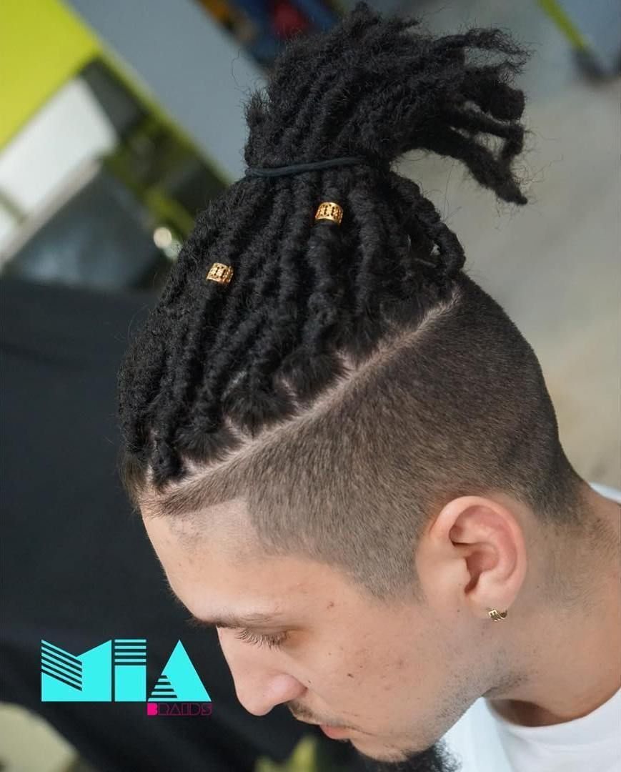 Dreadlocks with undercut blackhairstylescrochet stylish braids
