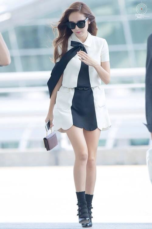 Jessica Snsd Airportfashion Jessica Jung Pinterest
