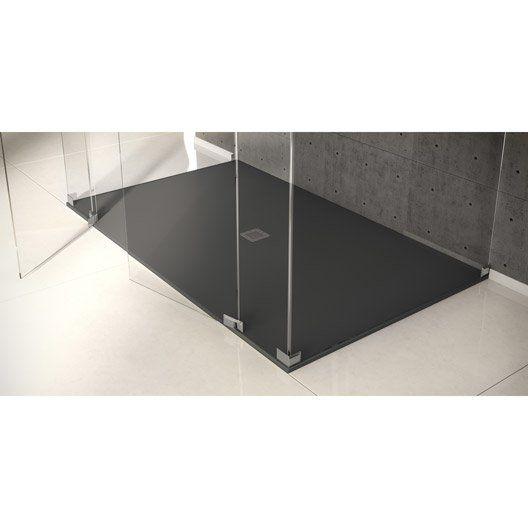 receveur de douche kioto extra plat pierre rectangulaire. Black Bedroom Furniture Sets. Home Design Ideas