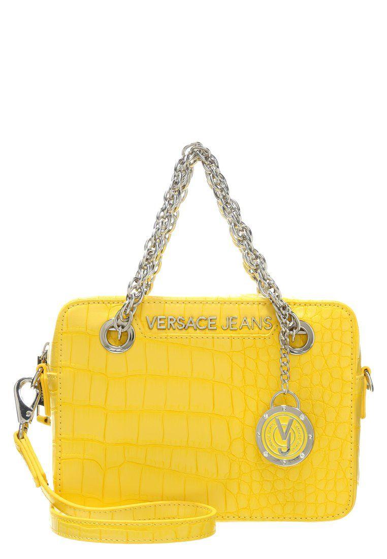 Luxe Versace Jeans Sac à main - giallo jaune  145,00 € chez Zalando (au  27 02 16). Livraison et retours gratuits et service client gratuit au 0800  740 357. 6831bae7a51