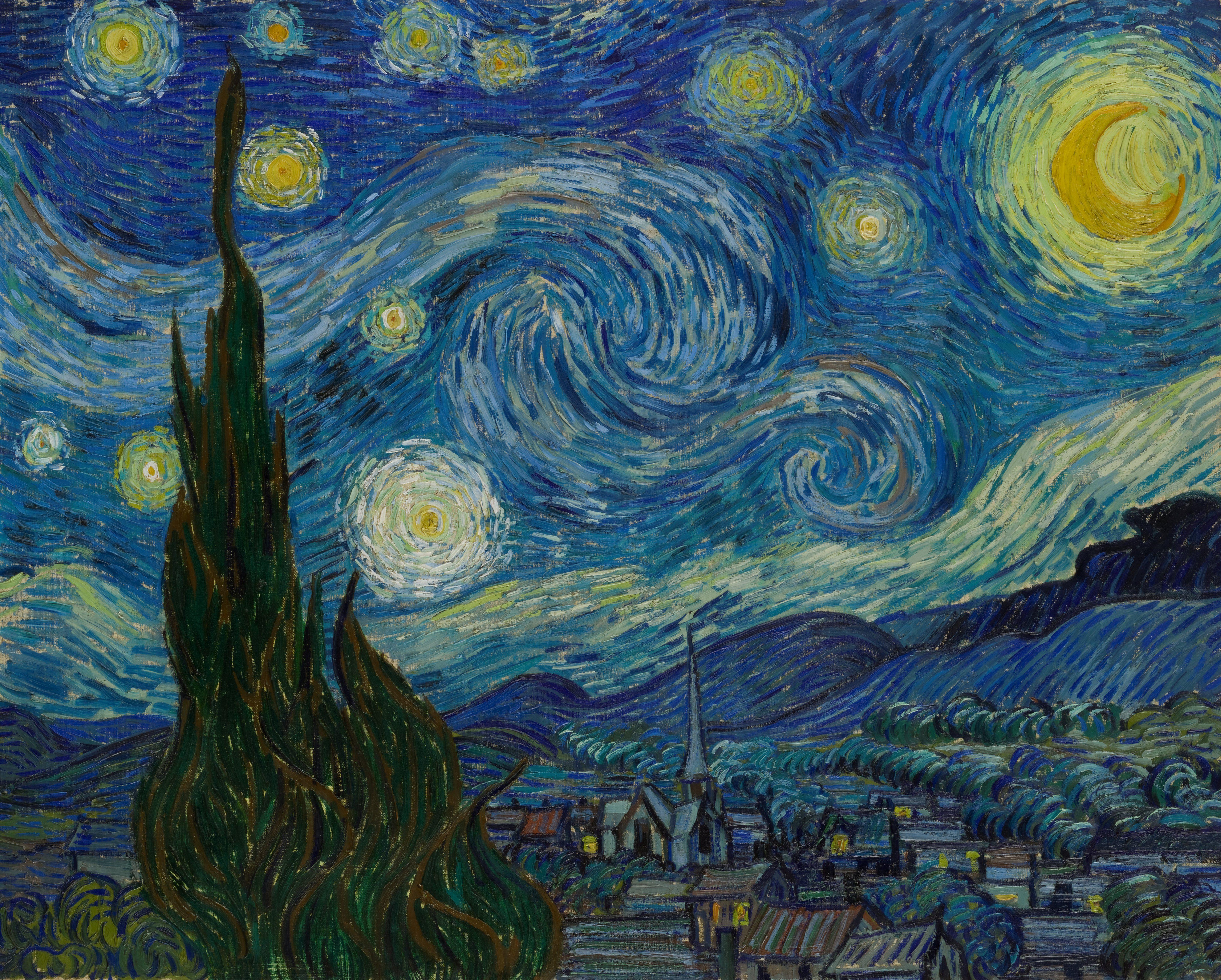 Vincent Van Gogh The Starry Night Starry Night Van Gogh Van Gogh Art Gogh The Starry Night