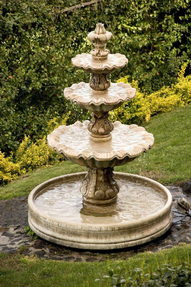 самодельный фонтан фото непросто точно подобрать