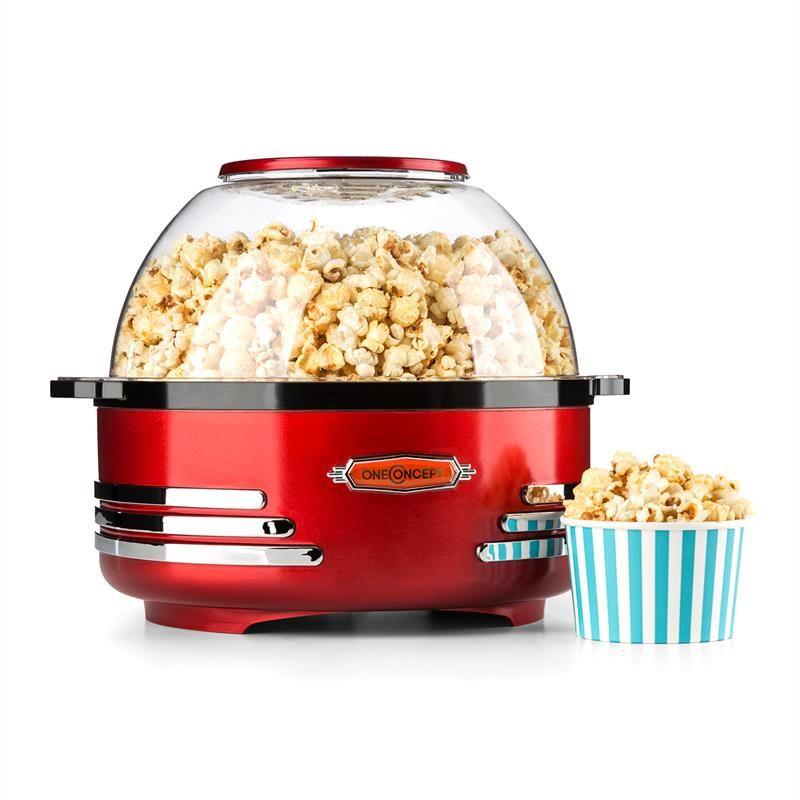 oneConcept Couchpotato Popcornmaschine elektrischer Popcorn Bereiter ...
