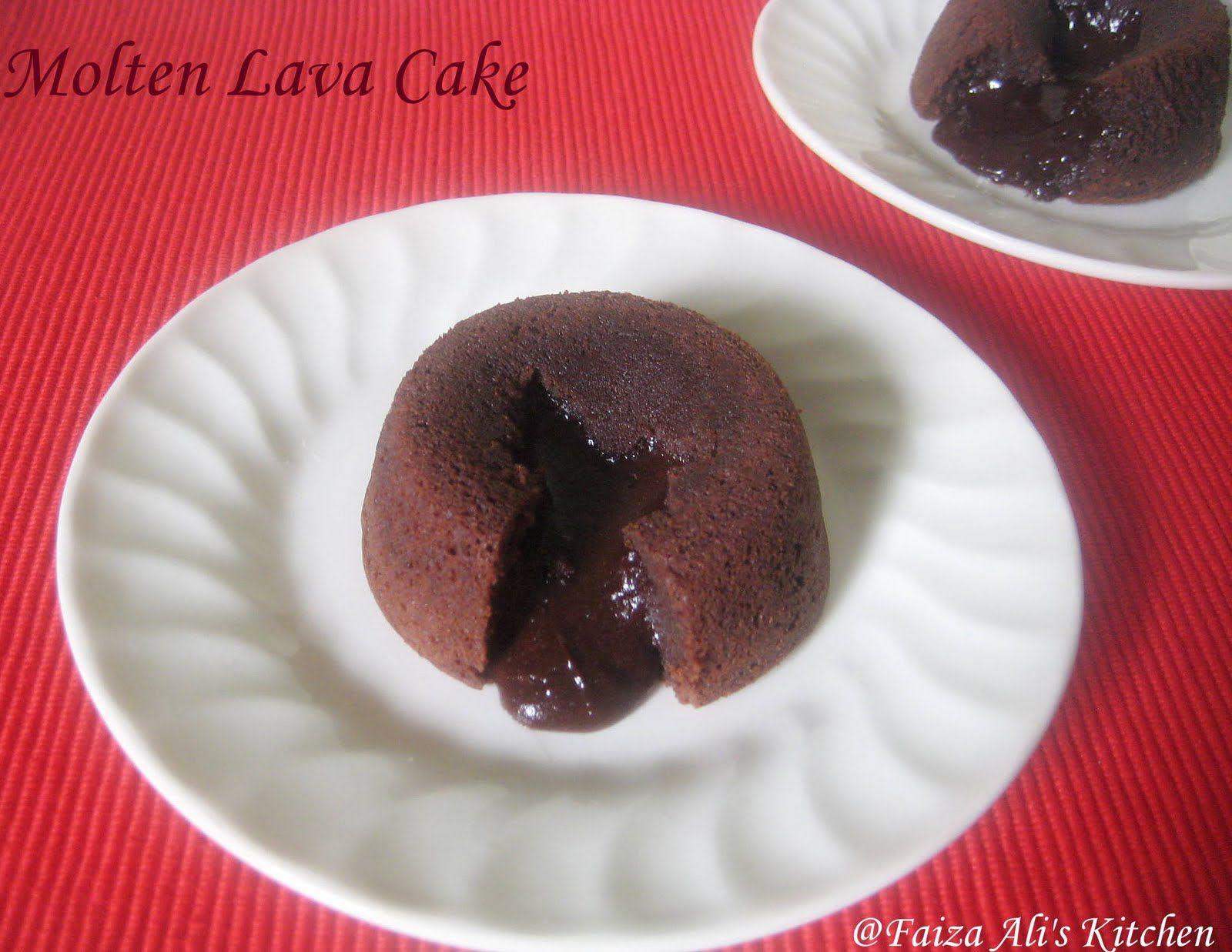 Charmant Faiza Aliu0027s Kitchen: Molten Lava Cake