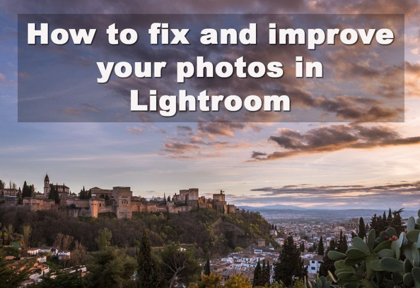 how to fix poor image in photoshop